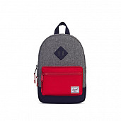 Kids grey cross/blue/red