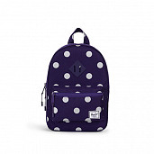Kids purple/polka dots