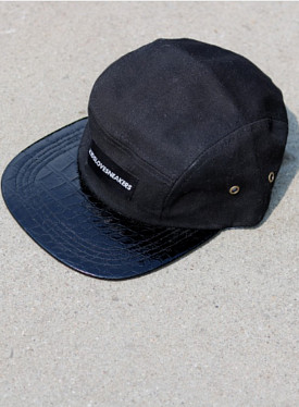 Kls 5-panel Black/Alligator Toddlers