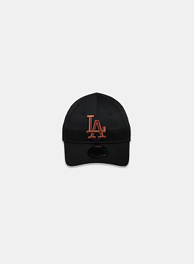 La Dodgers Essential 9Forty Black Toffee Infant