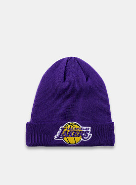 LA Lakers Essential Beanie Purple Yellow Child
