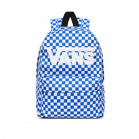 New Skool Backpack Checker Victoria Blue