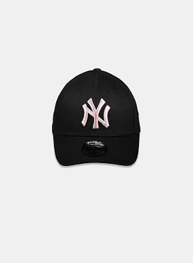 New York Yankees Essential 9Forty Black Pink Child