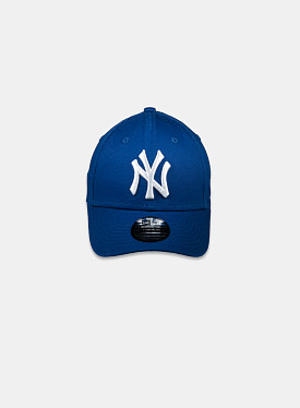 New York Yankees Essential 9Forty Royal Blue White Child