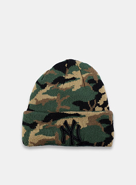 New York Yankees Essential Beanie Camo Child