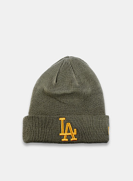 New York Yankees Essential Beanie Green Yellow Youth