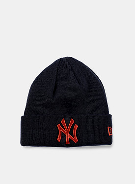 New York Yankees Essential Beanie Navy Red Youth