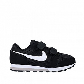 Nike md runner 2 blck/wht ps