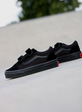 Old skool Black/Black Velcro PS
