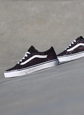 Old skool Black/Glitter GS