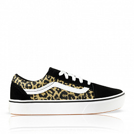 Old Skool ComfyCush Leopard/Black GS