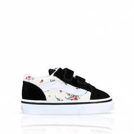 Old Skool Ditsy Floral Classic White TD