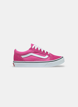 Old Skool Fuchsia Purple True White GS