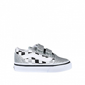 Old skool Glitter/Checkerboard TS