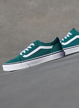 Old skool Green/White GS