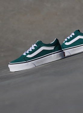 Old skool Green/White PS