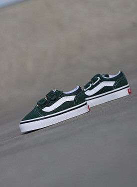 Old skool Green/White TS