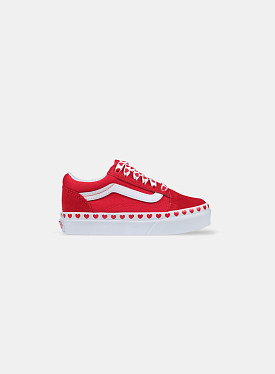 Old Skool Hearts Red True White PS