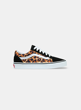 Old Skool Leopard Black True White GS