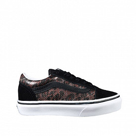 Old skool leopard-mesh ps