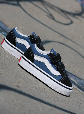 Old Skool O.G. Navy/White TS