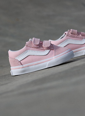 Old Skool Pink/White TS