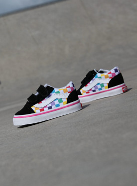 Old skool Rainbow/checker TS