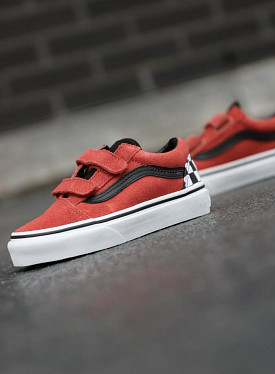 Old skool redwood/black v ps