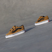 Old skool suede Cognac/Black TS