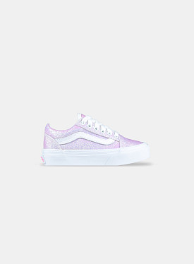 Old Skool UV Glitter Pink True White PS