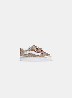 Old Skool V Glitter Brazilian Sand True White TD