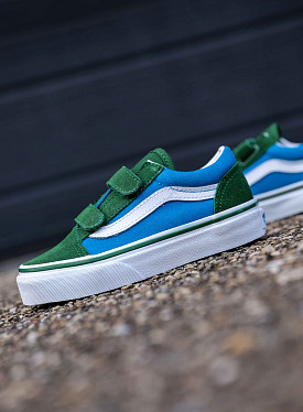 Old skool-V green/blue  PS