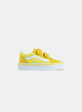 Old skool V Neon Animal Zebra Yellow PS