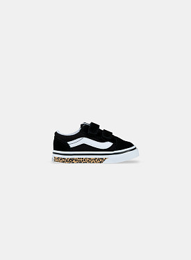 Old Skool V Sidewall Black Leopard TD