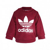 Originals Crew Neck Set Burgundy/White TS