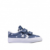 Ox Breakpoint Polka Denim TS