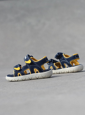Perkins Navy/Yellow TS
