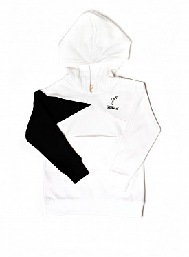 Playground Jogging Suit White/Black