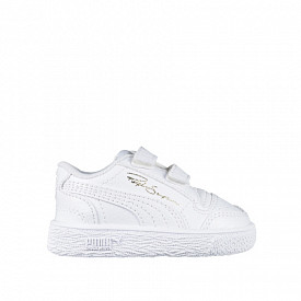 Ralph Sampson low white/leather TS