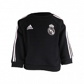 Real Madrid Crew Neck Suit Black TS