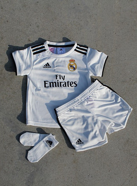 Real Madrid Set White/Black TS
