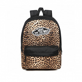 Realm Classic Backpack Black Leopard
