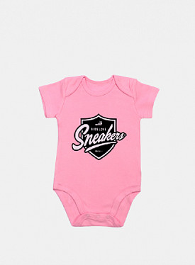 Romper Shield Bubble Gum Pink