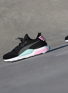 RS-0 Black/Pink GS