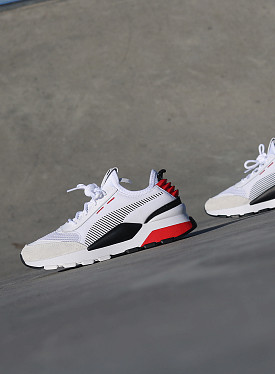 RS-0 White/Red GS