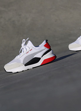 RS-0 White/Red PS