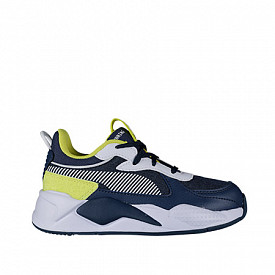 Rs-x collegiate dark denim/yellow PS