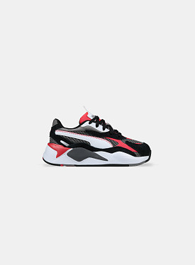 RS-X³ Twill AirMesh Castlerock Poppy Red PS