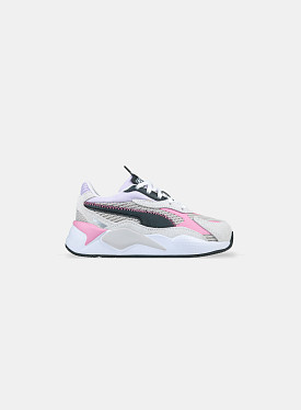 RS-X³ Twill AirMesh Gray Violet White PS