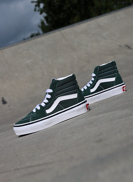 Sk8-hi Green/White PS